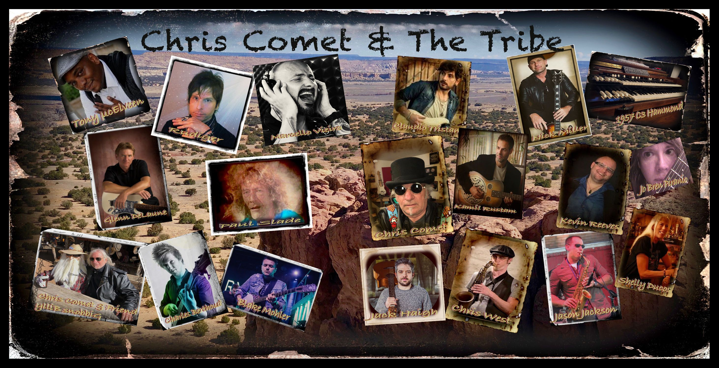 Chris Comet and The Tribe